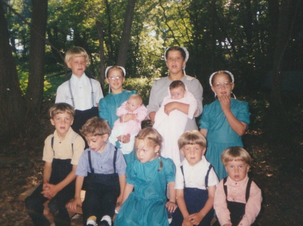 my amish nieces and nephews