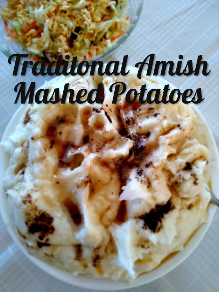 Creamy Amish Mashed Potatoes