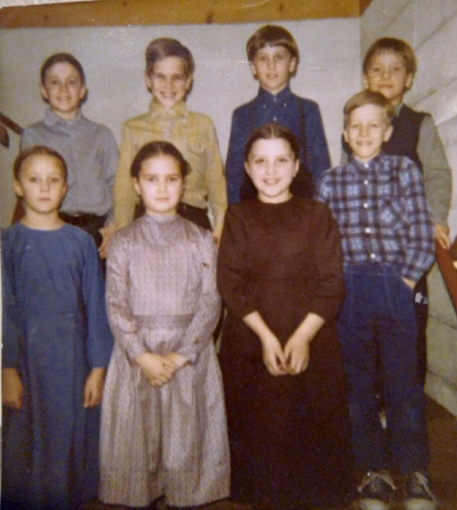 Amish and Mennonite kids