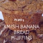Amish Banana Muffins