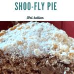 Amish shoo-fly pie