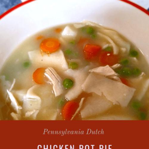 PA Dutch chicken pot pie
