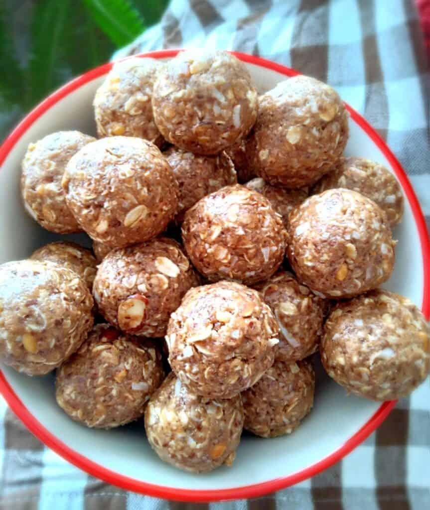 Amish homemade protein balls