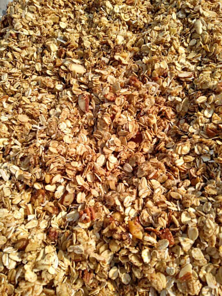 oats and honey granola
