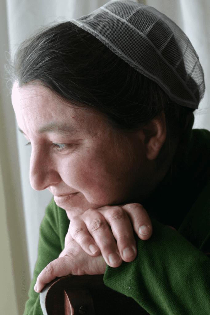 Mennonite woman