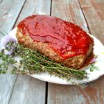 Amish meatloaf with oats