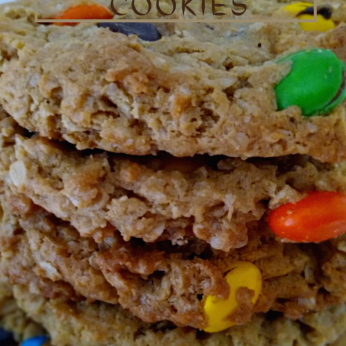 Amish Monster cookies