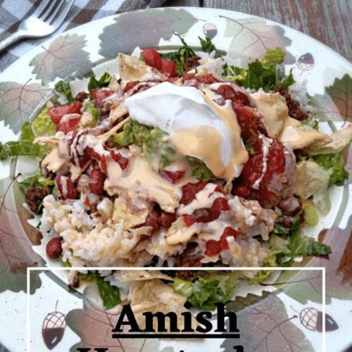 Amish haystack dinner