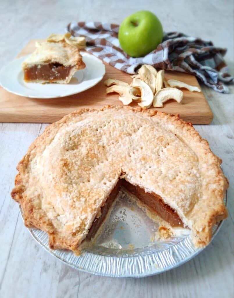 Apple Schnitz Pie