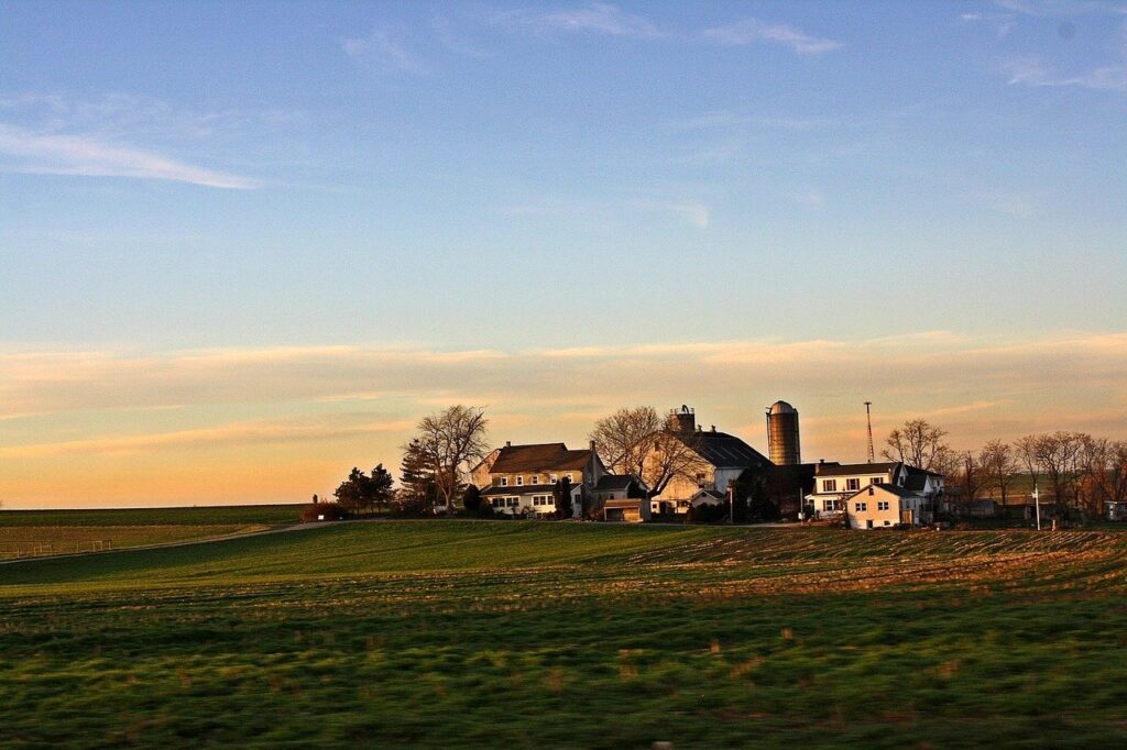 Amish countryside