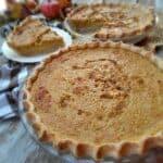 Amish pumpkin pie