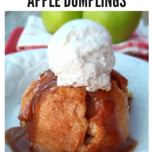 Amish apple dumplings